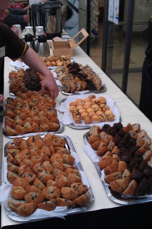 Die Muffins vor der Raubtierfütterung ;-)