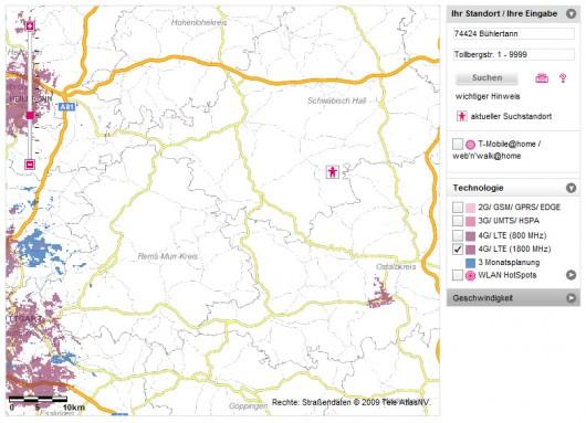 Nur in den mit 1800 MHz ausgebauten Städten kommt Euer iPhone5 mit LTE klar.
