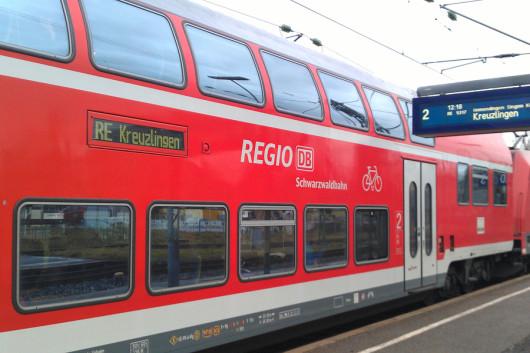 Die Schwarzwaldbahn macht auch von außen einen top Eindruck!