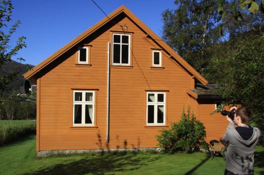 Unser Ferienhaus  am Lysefjord in der Provinz Rogaland.
