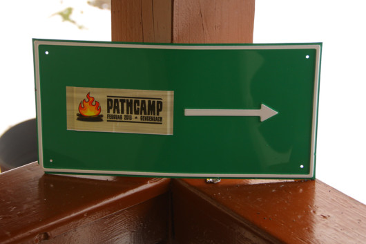 Zum #pathcamp hier entlang!