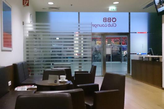 Die Sitzlandschaft der ÖBB-ClubLounge.