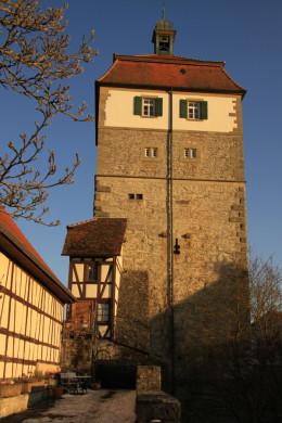 Nochmals der Stadttor-Turm.