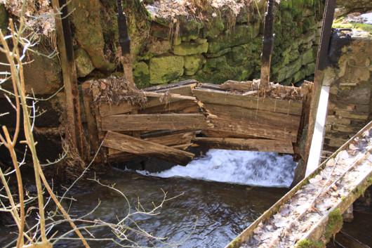 Rappolden ist eine ehemalige Mühle. Ein paar Reste sind noch zu erkennen.