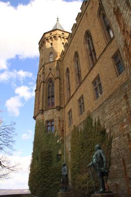 Die Südseite von der Bastion aus gesehen.