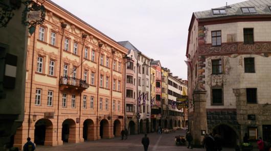 Die Innsbrucker Altstadt. Echt schön!