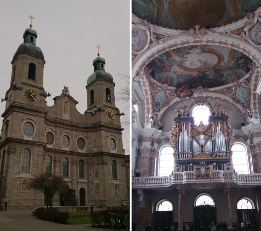 Der mächtige Dom der Alpenstadt.