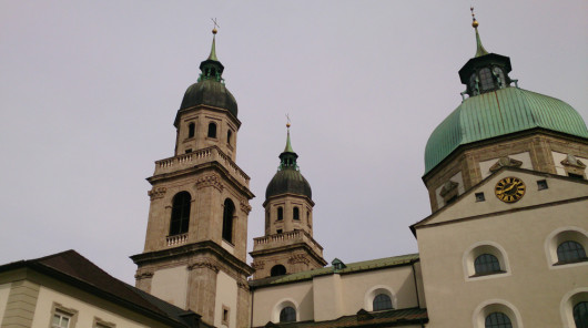 Nennt man Innsbruck eigentlich auch Stadt der Türme?