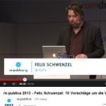 Rückblick auf die re-publica: Vorträge von Felix Schwenzel und Sascha Lobo