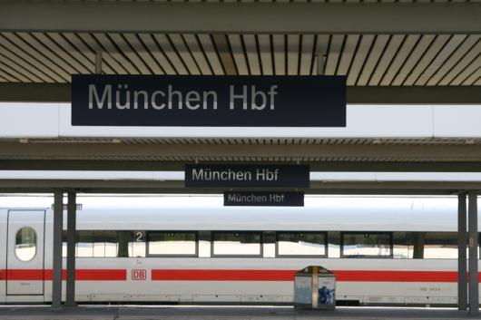 ICE abfahrbereit in München Hbf.