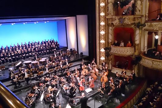 Neujahrskonzert im Hessischen Staatstheater.