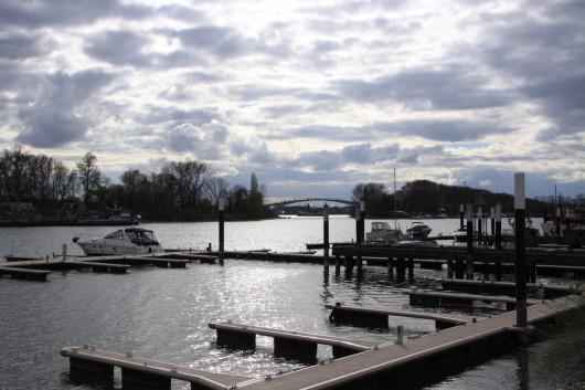 Vergangenen Sonntag im Schiersteiner Hafen