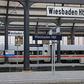 Mehr Züge und mehr ICE sollen in Wiesbaden künftig Halt machen.