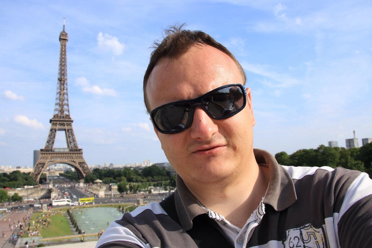 Das obligatorische Eiffelturm-Selfie!
