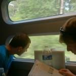 Die Fahrt nach Lausanne war etwas komplizierter…