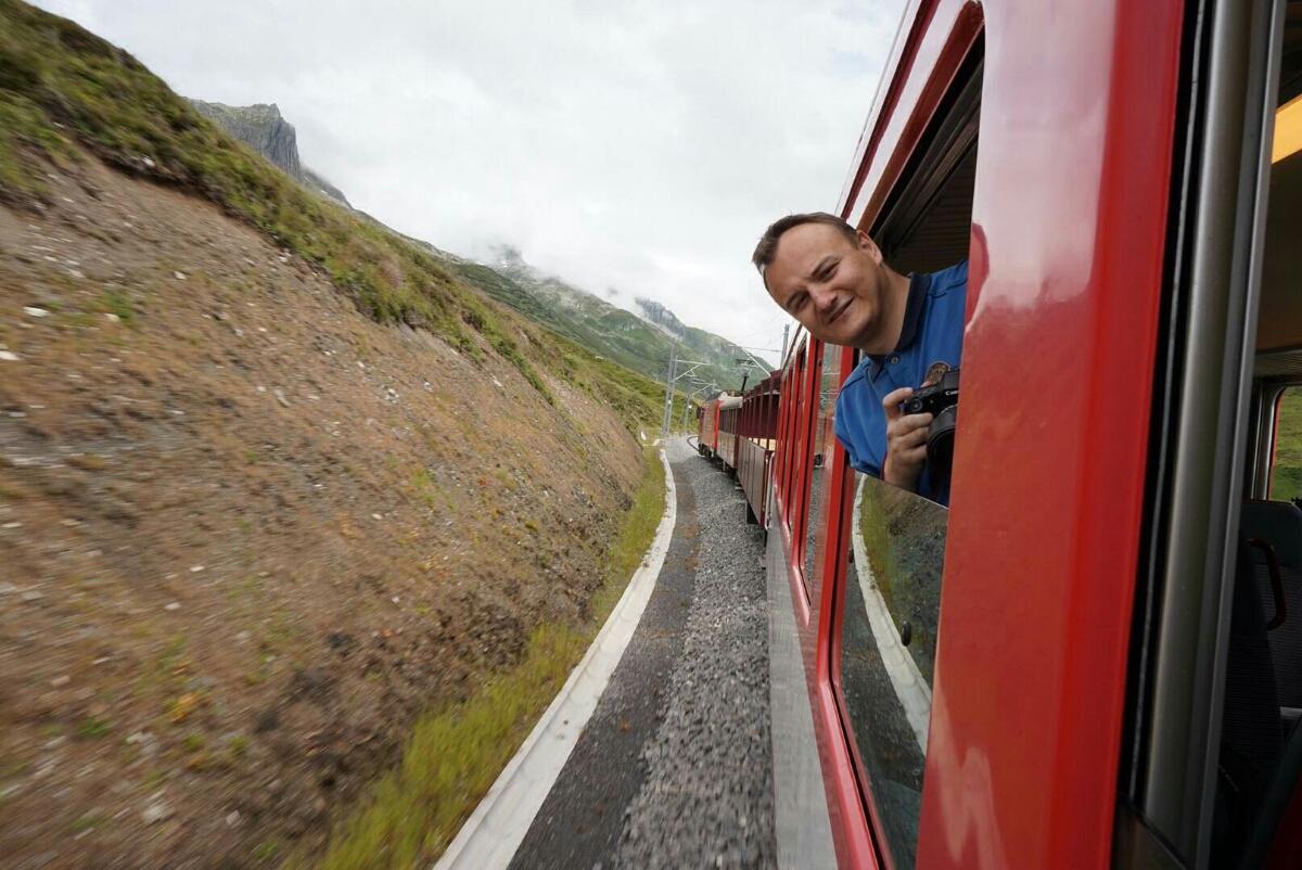 Bei 30-40 km/h konnte man problemlos aus den Fenstern schauen. (Fotocredit: Malte Krohn)