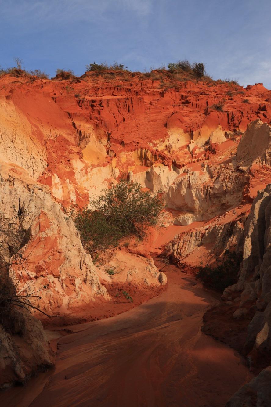 Eine der tiefsten Stellen im Canyon.