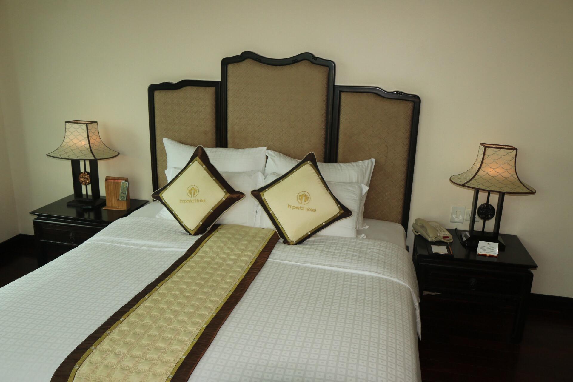 Das Zimmer im Hotel Imperial war das bisher teuerste meiner Reise - 87 Euro pro Nacht.