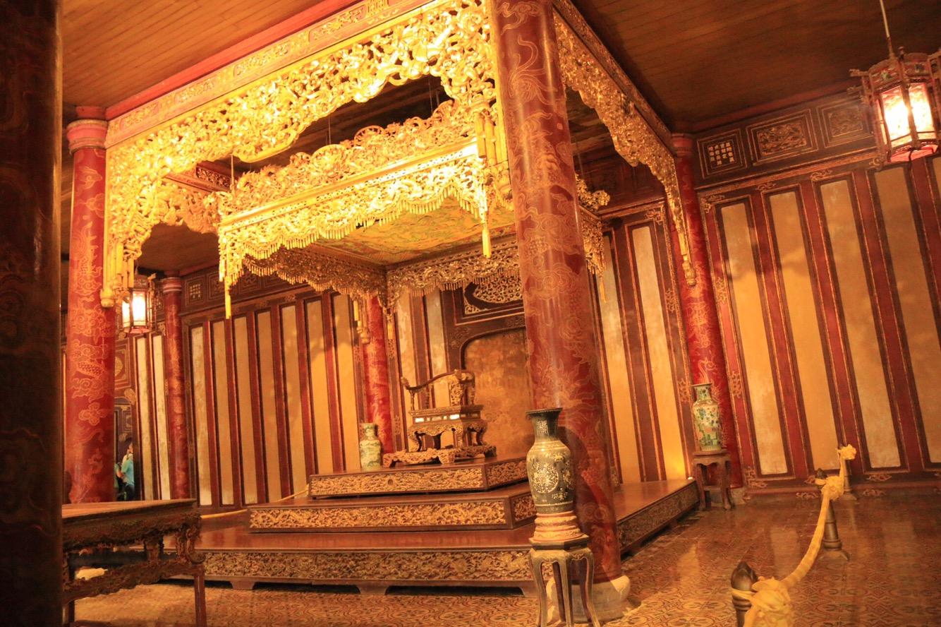 In der Halle fanden ab 1833 offizielle Zeremonien statt.