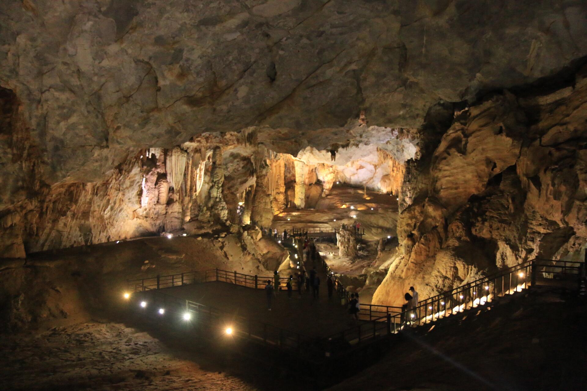 Der Anblick in die große Halle der Paradieshöhle war atemberaubend!