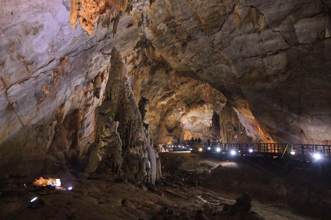 Hatte ich schon erwähnt, dass die Höhle 31 Kilometer lang ist?