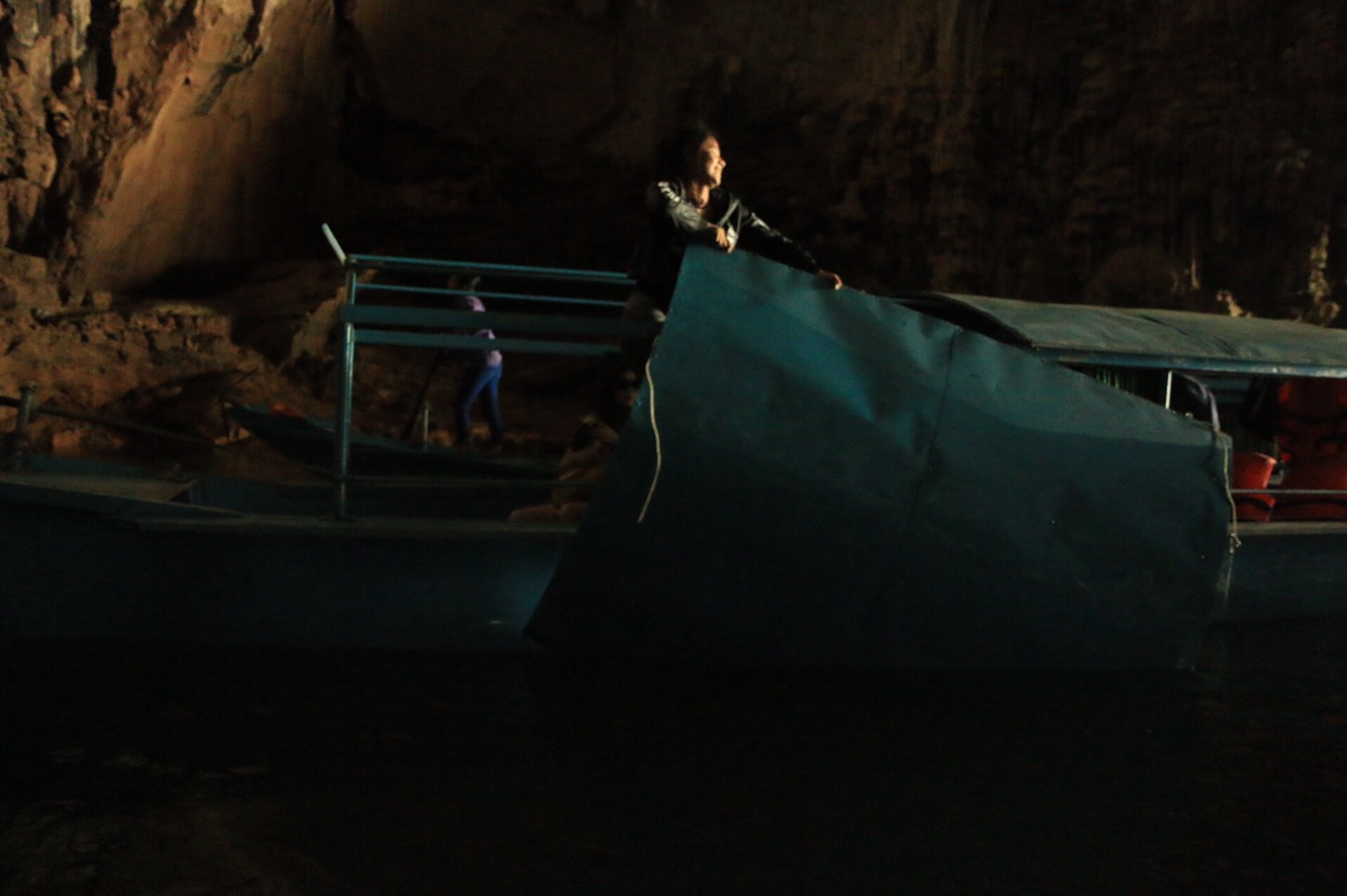 Hier sieht man wie aus unseren Booten Cabrios gemacht wurden.