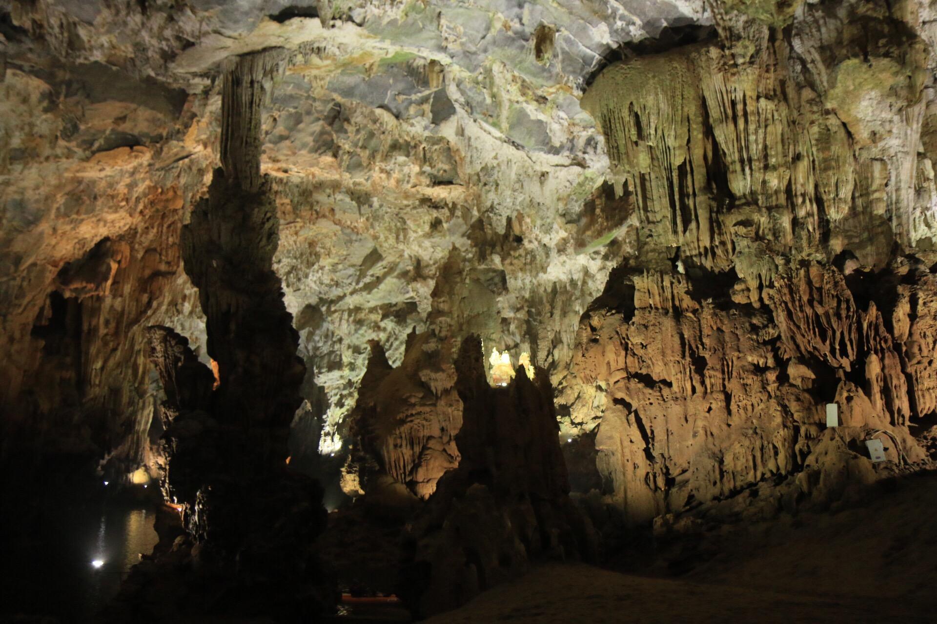 Der trockene Zweig der Höhle war gar nicht mal so klein...
