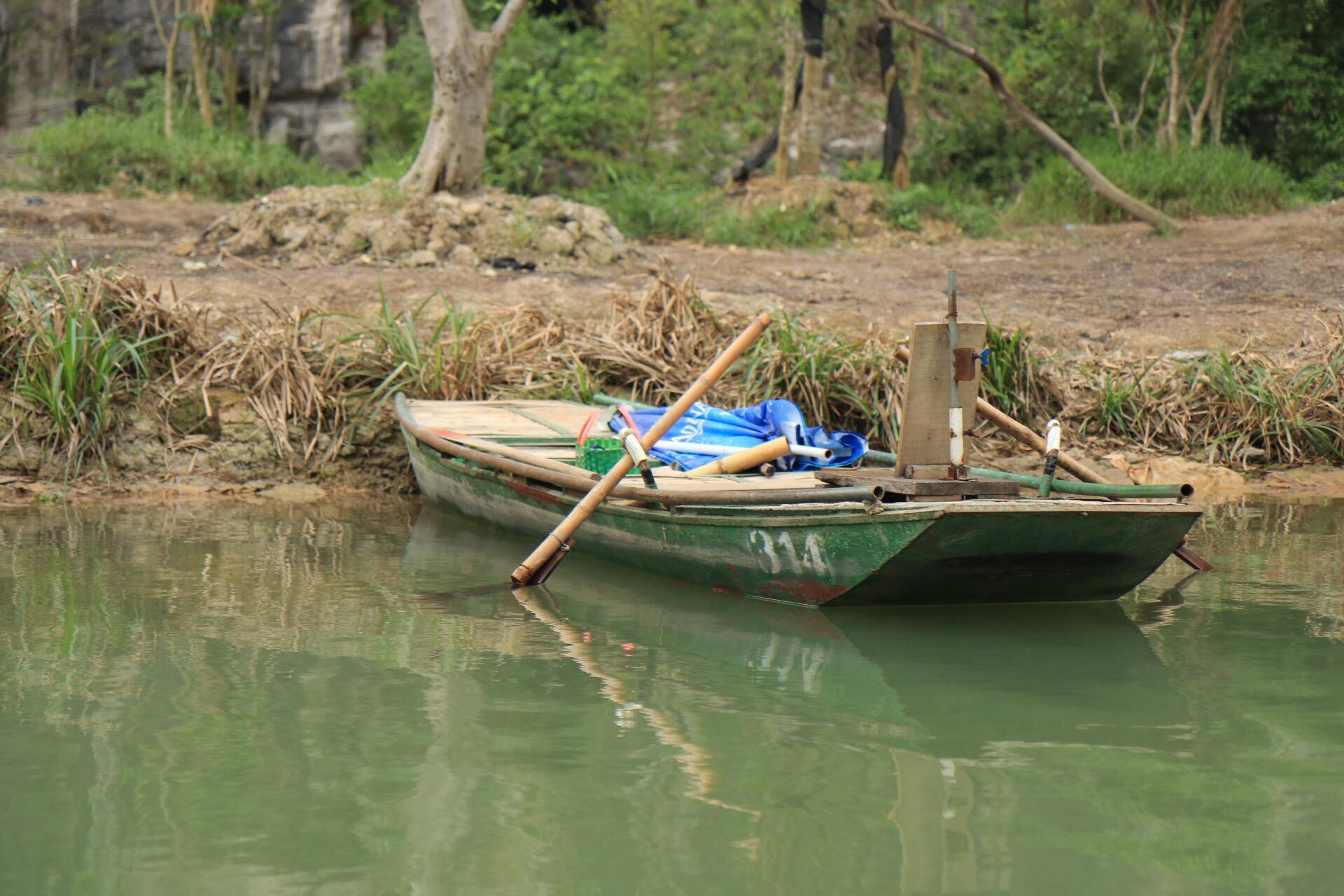 Oder es parkte mal eins am Ufer des Flusses.