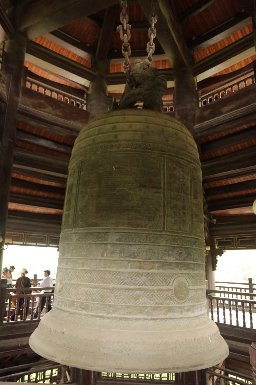 Er beherbergt eine 36 Tonne schwere Glocke.
