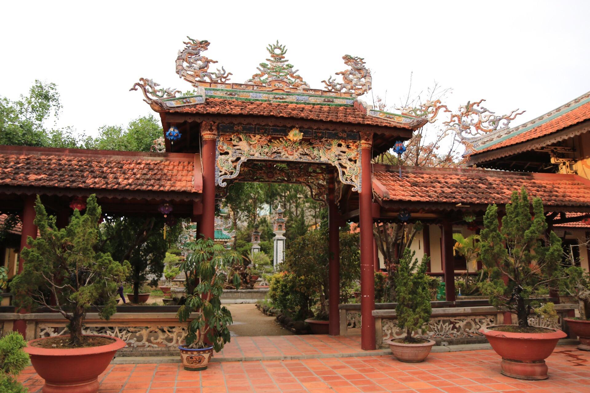 Der Tempel und sein Garten wiederum ist eine Pflichtstation.