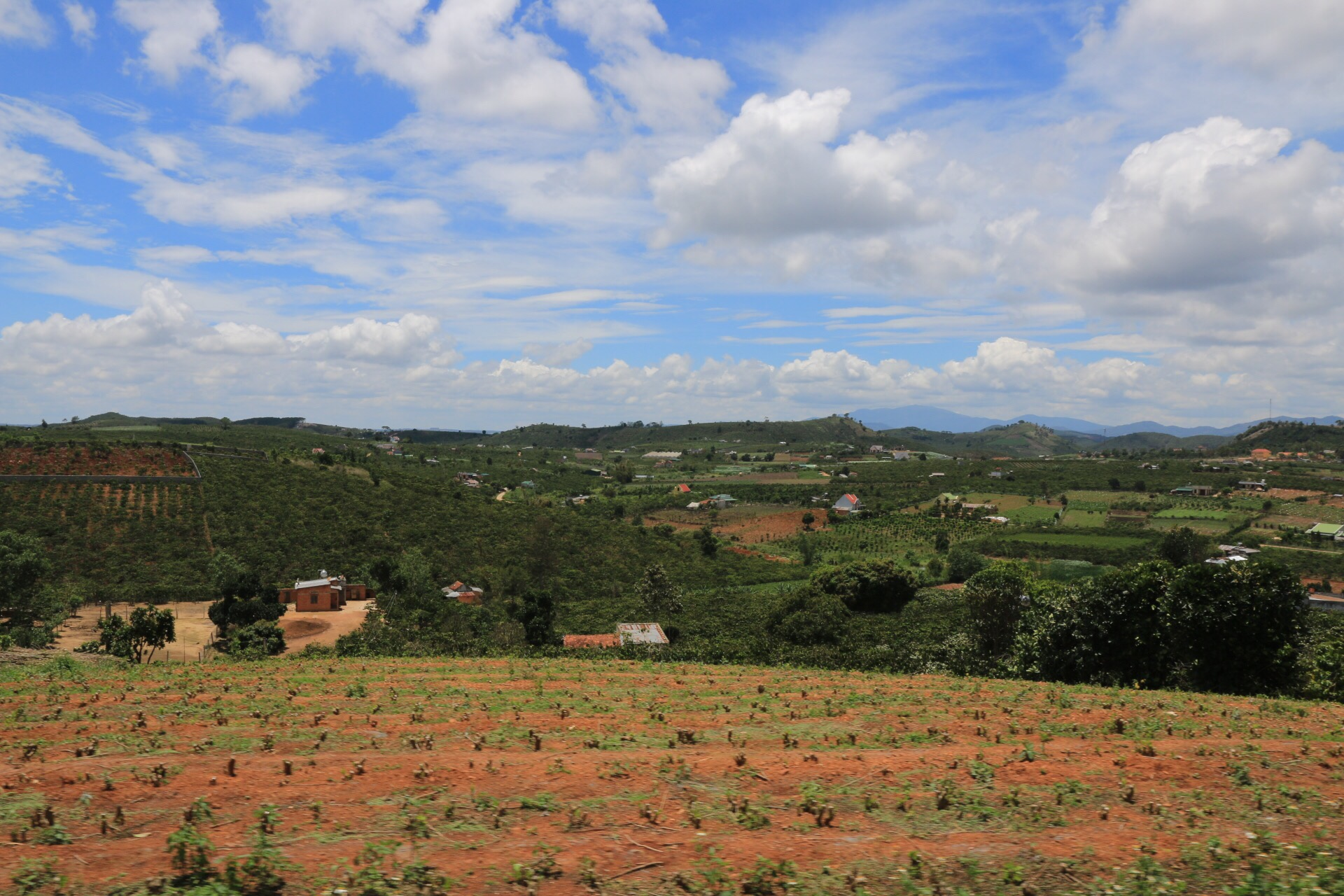 Das Hochland von Dalat liegt etwa 1400 bis 1500 Meter über dem Meeresspiegel.