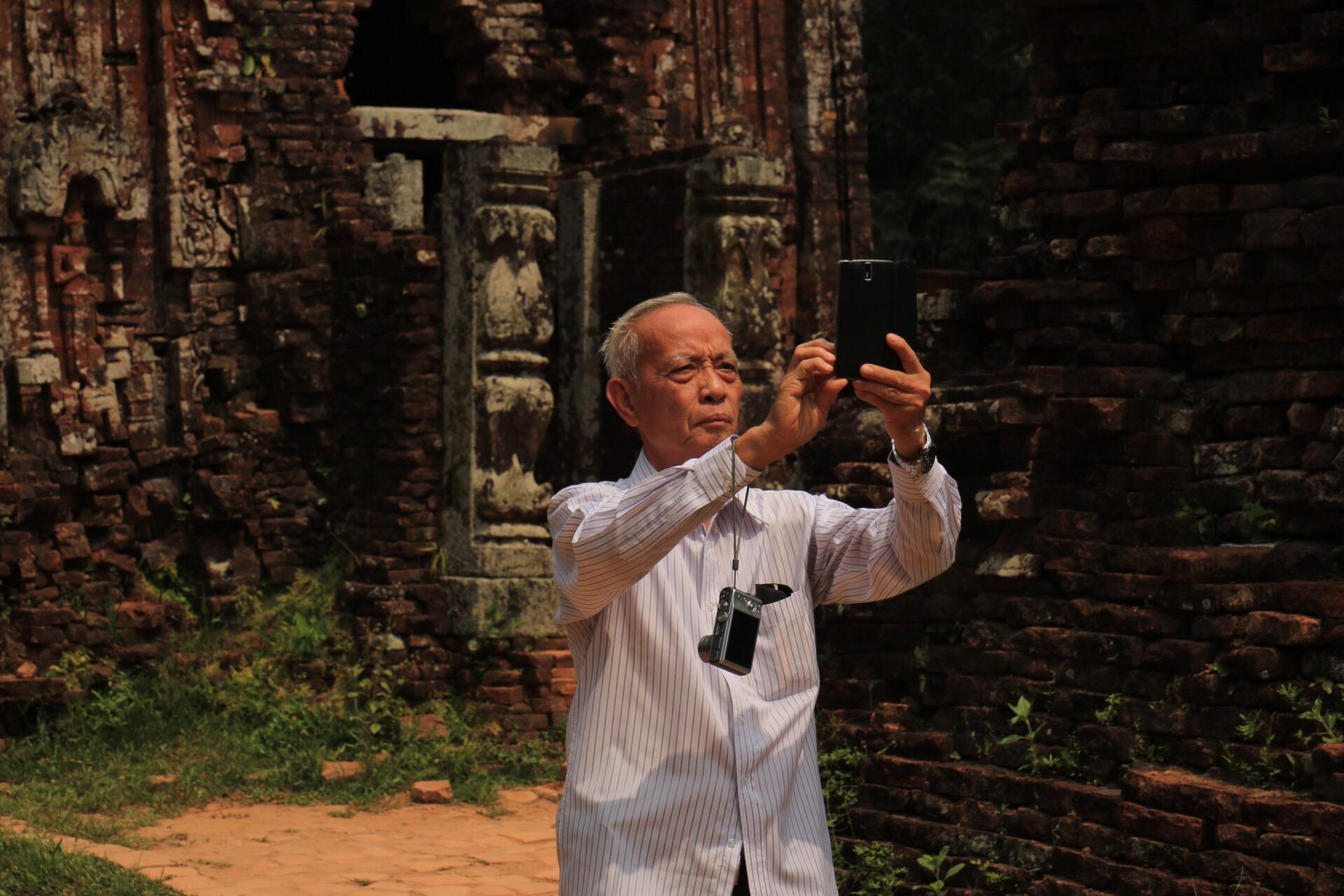 Der Selfie-Opa war auch lustig. Bestimmt 20x hat er versucht, DAS perfekte Selfie zu bekommen!