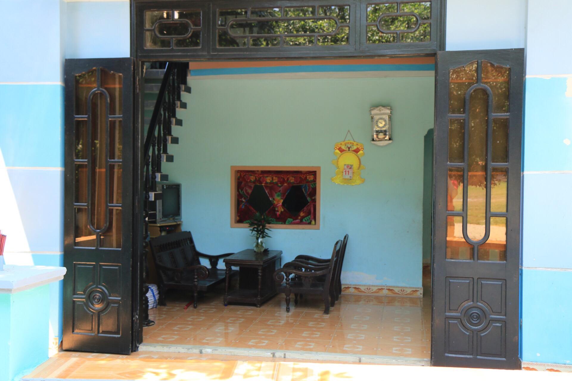 Den Blick ins Wohnzimmer der Inselbewohner gab es Freihaus.