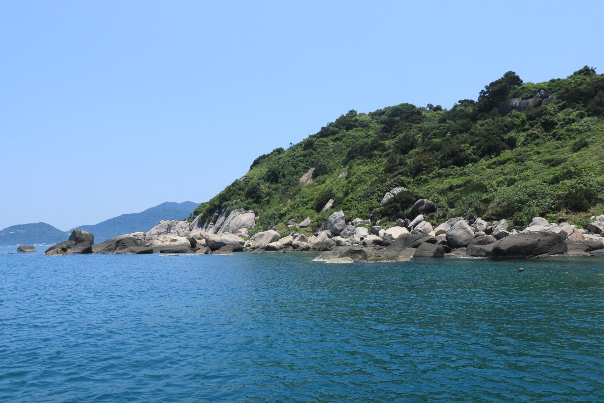 Eine weitere Bucht, hier konnten wir Schnorcheln konnten.