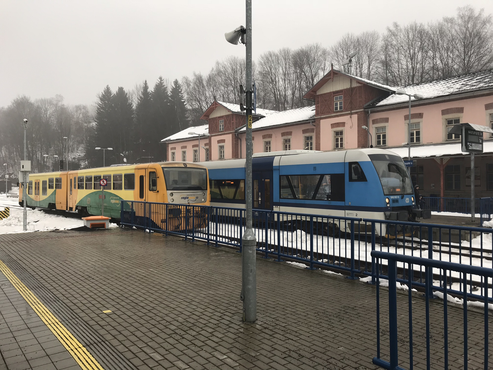 Gemächlich ging es zu auf Böhmens Nebenbahnen.