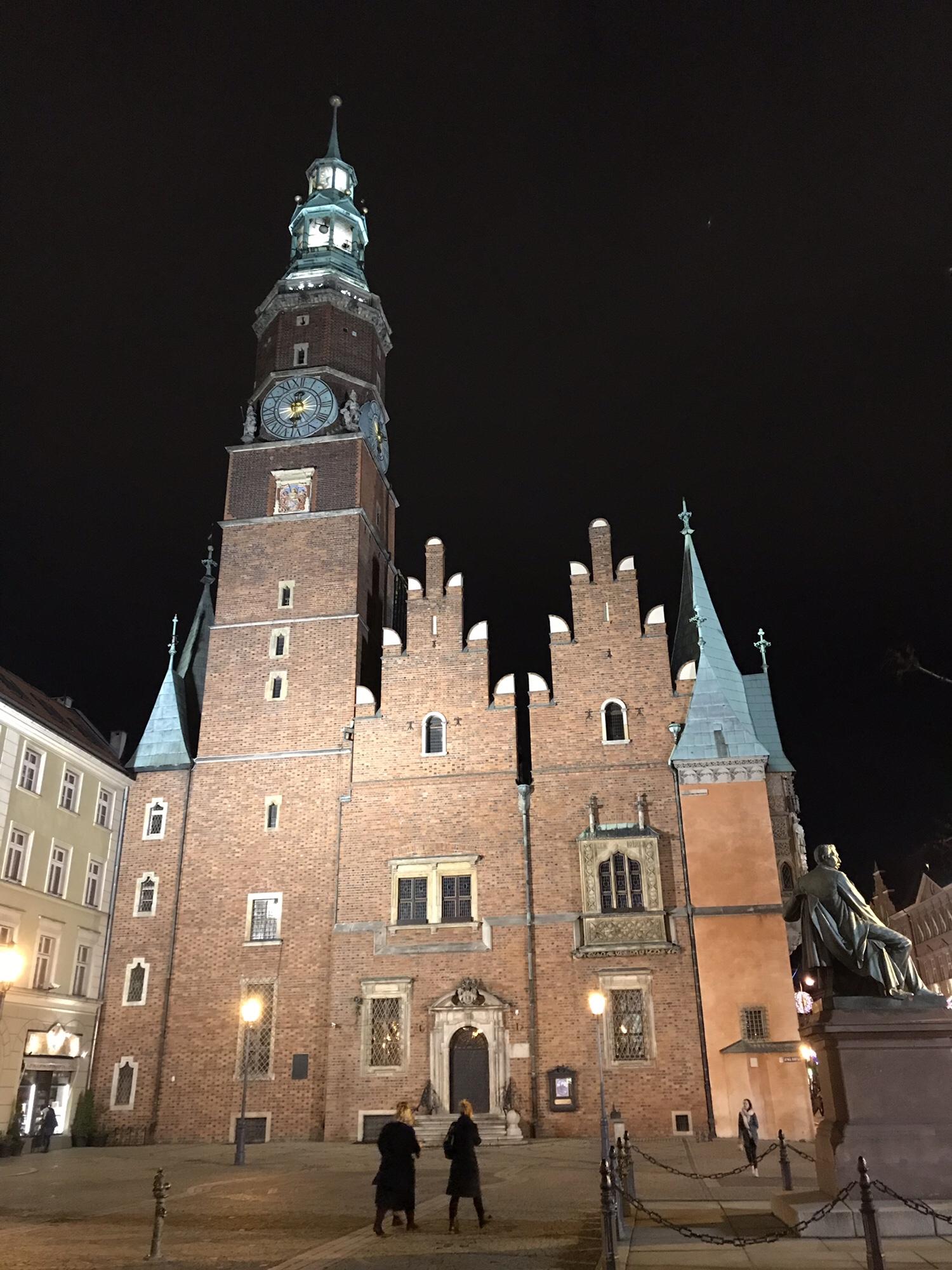 Wroclaw kann auch was bei Nacht! ❤️