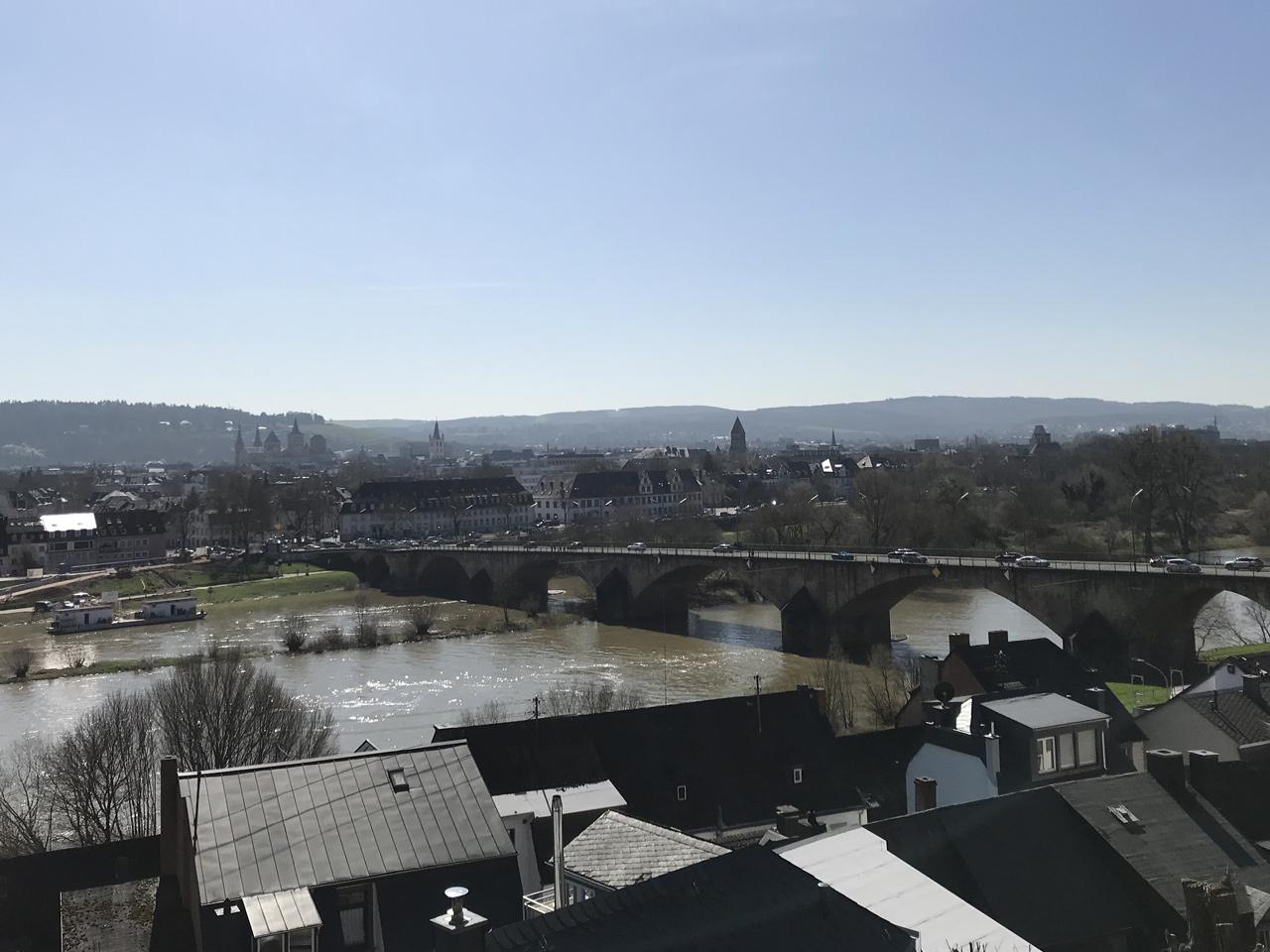 Der Blick über Deutschlands älteste Stadt.