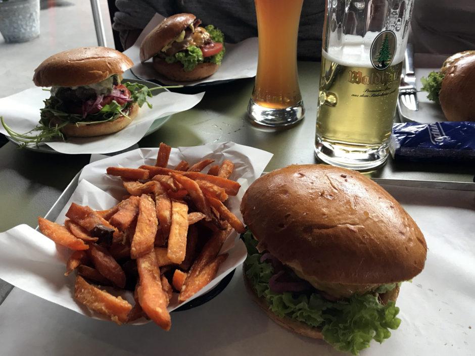 Burger, Pommes und Bier. So wurde aus dem Tag doch noch was!