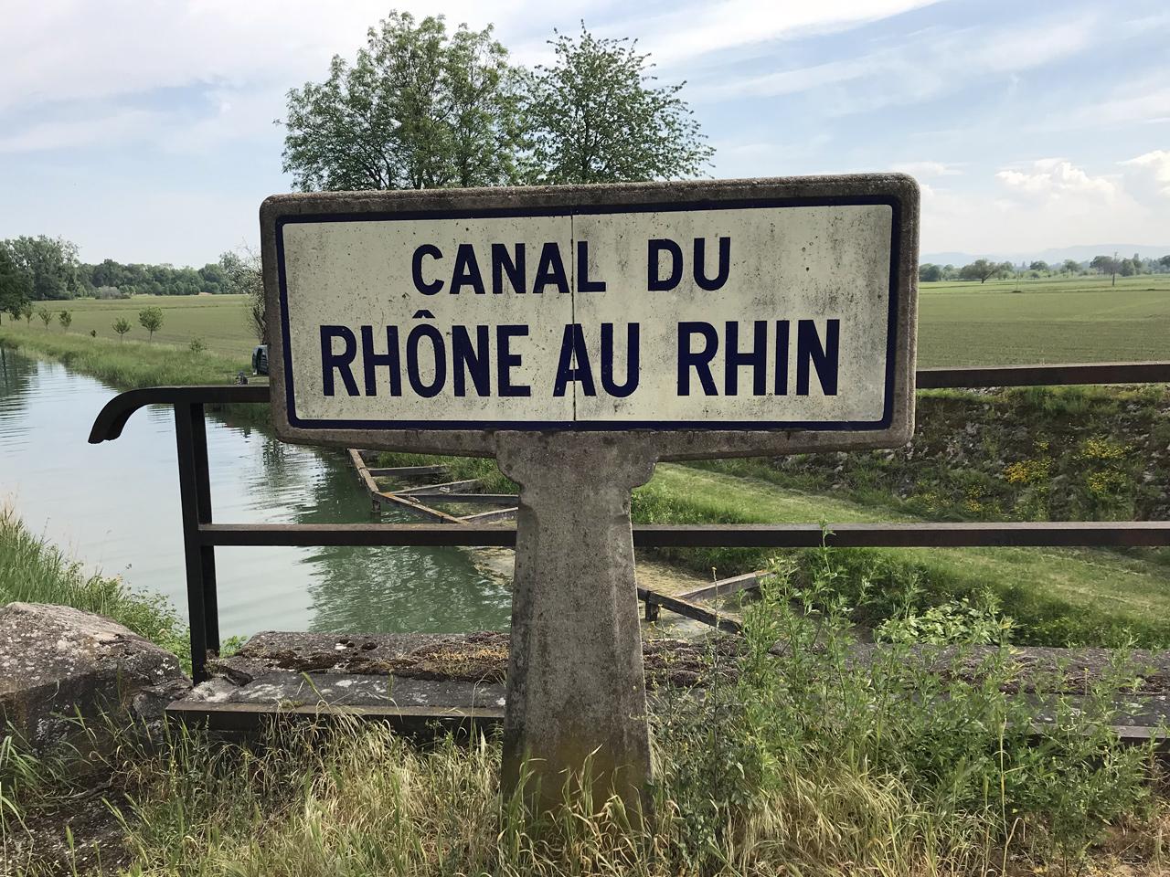 fahrrad rhein rhône kanal