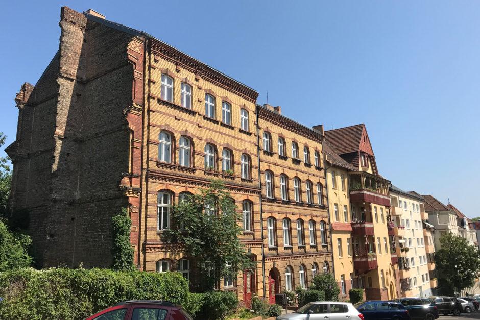 Das zweite Frankfurt auf meine Route. So empfängt einen die Stadt an der Oder.