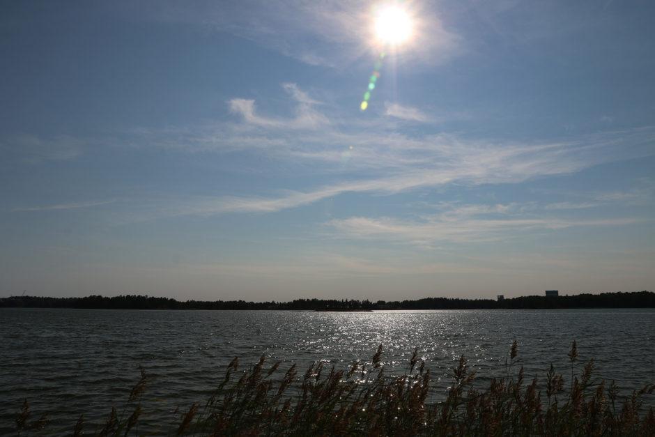 Zählt dieses Gewässer noch als See? Als Fluss oder schon als Ostseebucht? Man weiß es nicht so genau.