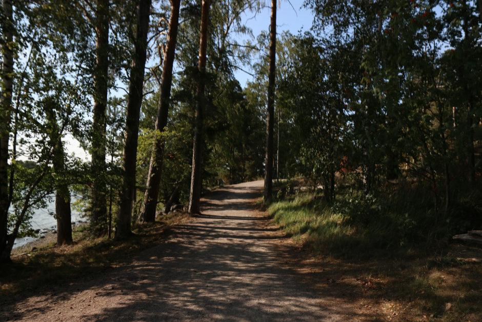 Auf der Insel war es einfach herrlich idyllisch. Und das quasi mitten in der Großstadt Helsinki!