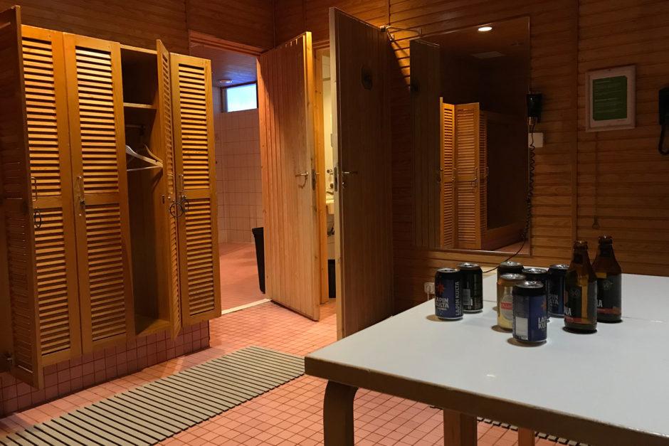 Bei meinem Besuch in der Sauna hat es leider nur zu einem Symbolbild gereicht.