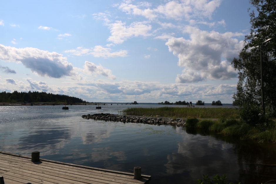 Der Blick auf den Pyhäselkä-See.