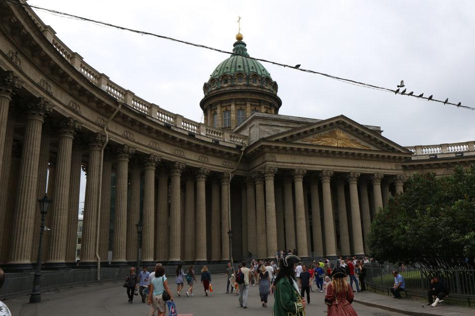 Wieder im Zentrum: die Kansaner Kathedrale nach Vorbild des Petersdoms in Rom.