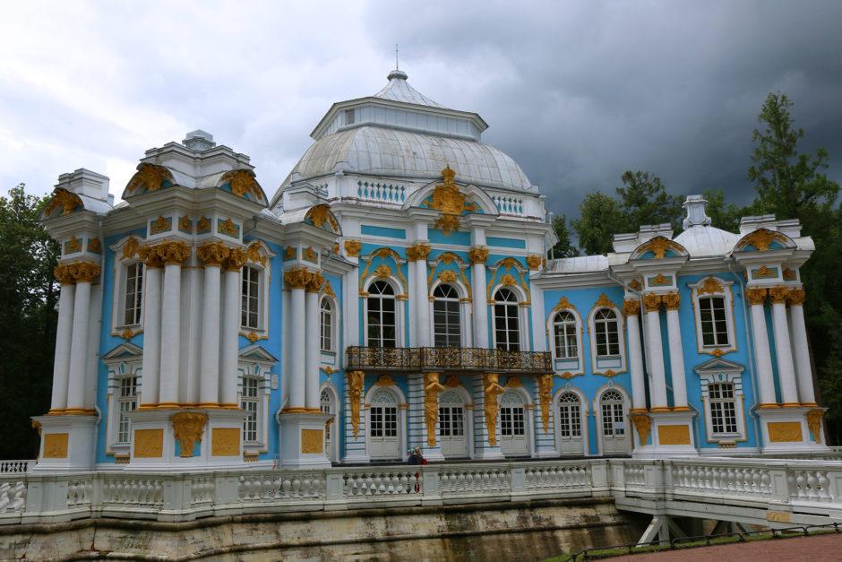 Gleich am Einlass erwartete mich der Pavillon im Schlosspark.