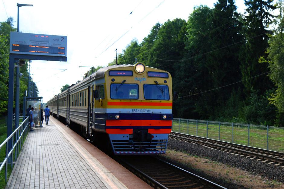 Fast alle Züge waren mit funktionierender Klimaanlage unterwegs. Aber man findet auch noch ein paar Bahnen ohne.