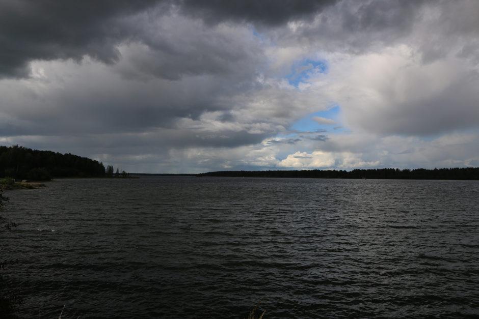 In Luleå war das Wetter etwas durchwachsen.