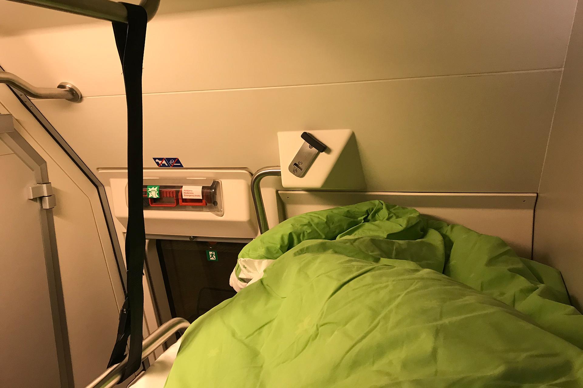 die nacht auf tag 18 der tour baltica mit dem nachtzug der finnischen eisenbahn an den. Black Bedroom Furniture Sets. Home Design Ideas