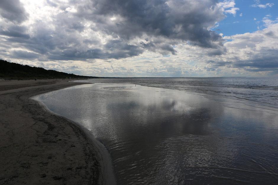 Je nach Strandabschnitt war es sehr seicht oder ultra seicht zu Beginn.
